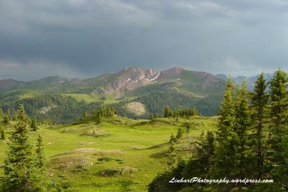 Below Trail Rider Pass - Maroon Bells/Snowmass Wilderness - Colorado