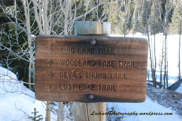 Lost Lake-Trail Sign