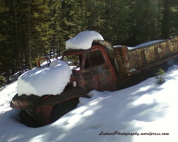 Hunkidori Mine - Abandoned Truck