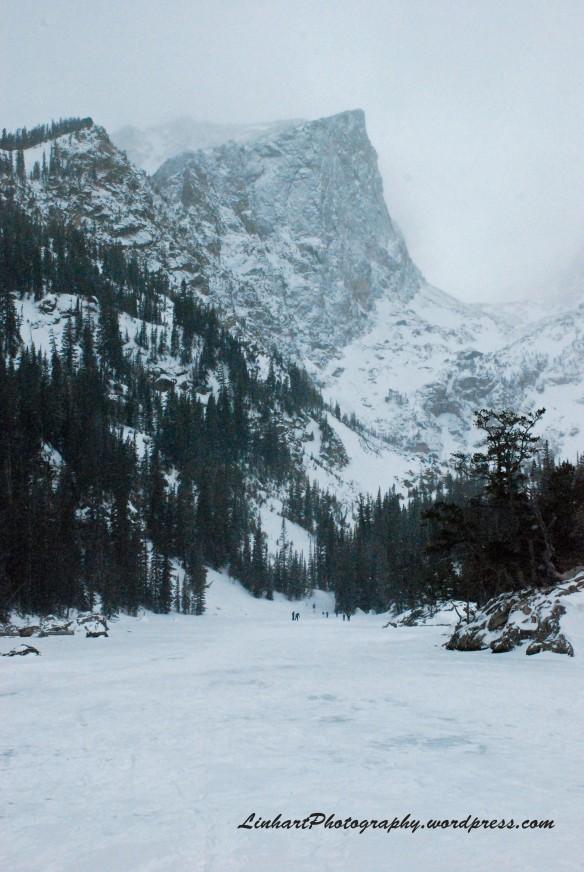 Dream Lake with Hallett Peak