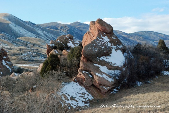 South Valley Park-rock formations