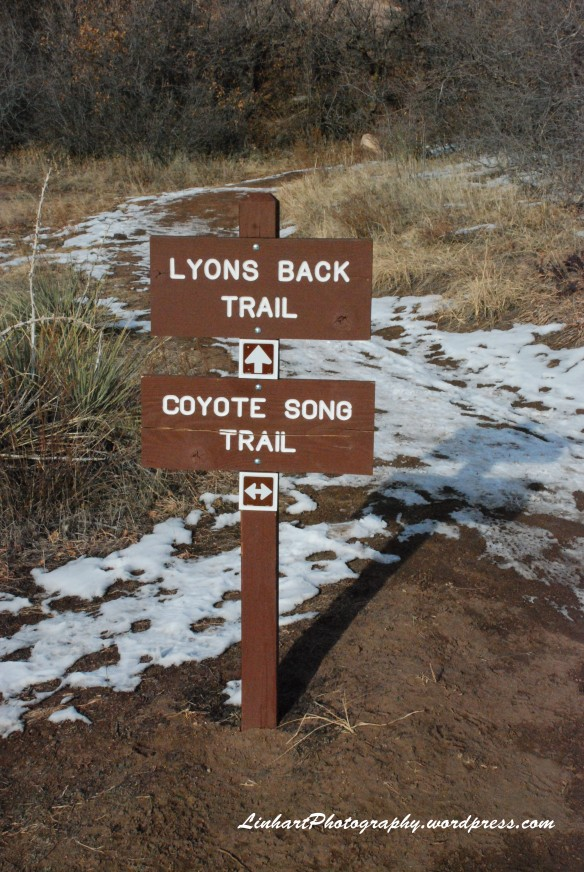 South Valley Park-Coyote Song Trail Sign
