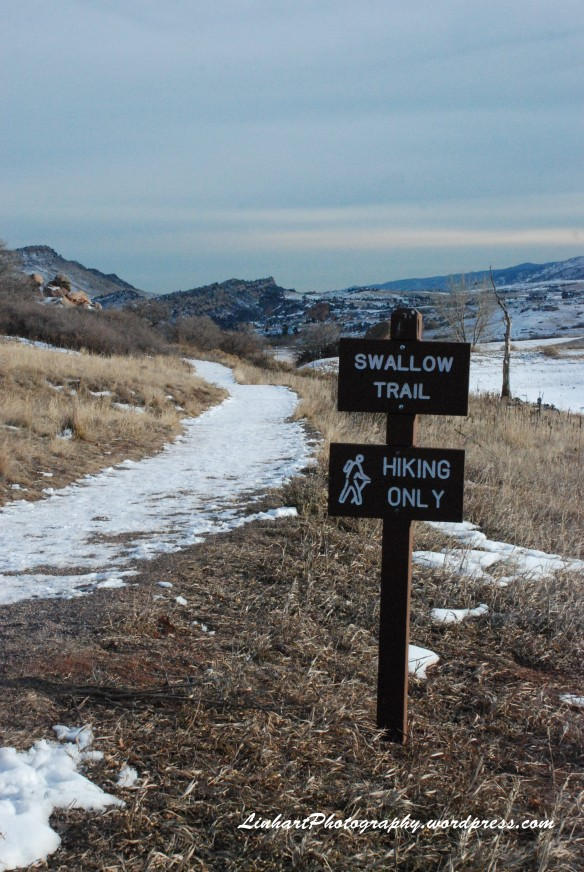 South Valley Park-Swallow Trail Sign