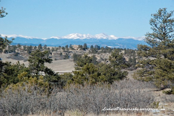 Castlewood Canyon-Front Range View
