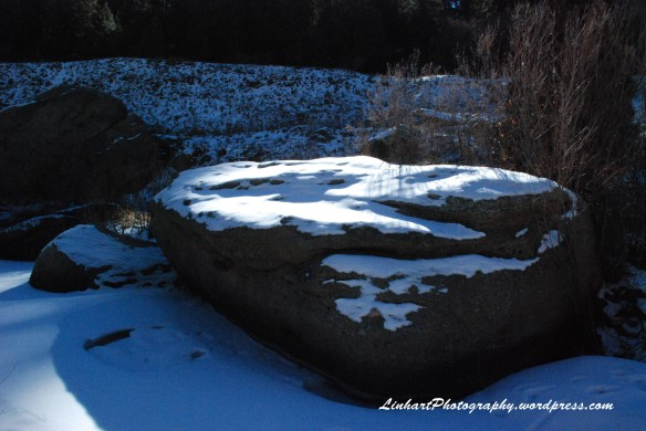Castlewood Canyon-Snowy Rock