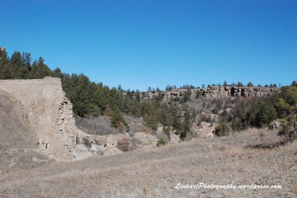 Castlewood Canyon-Dam