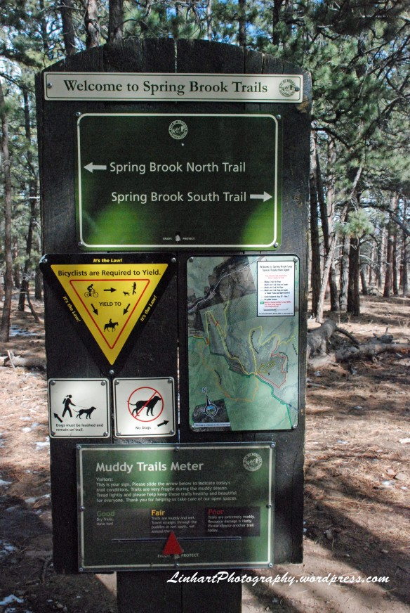 Eldorado Mountain-Spring Brook Loop Sign