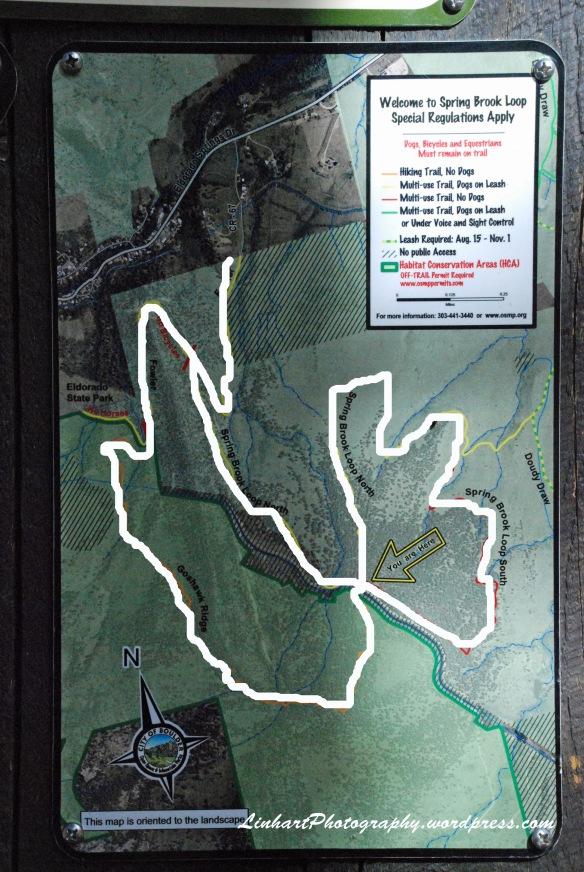 Eldorado Mountain-Trail Map