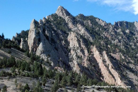 Eldorado Mountain-canyon view