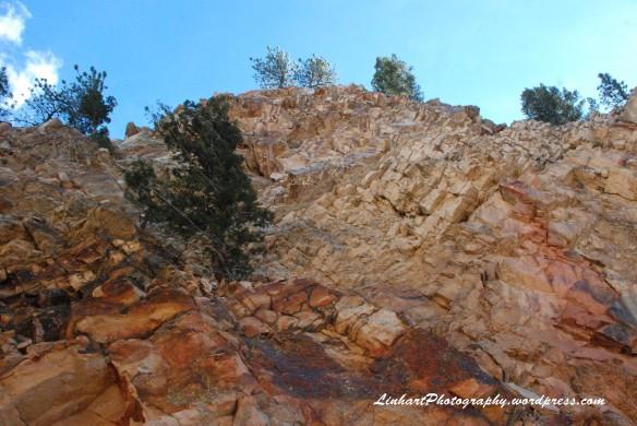 Eldorado Mountain-Blasted Notch