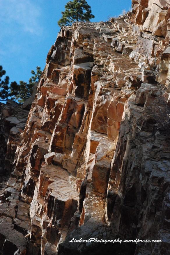 Eldorado Mountain-Rock Wall