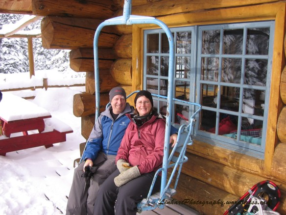Chuck's Cabin-Bob Lisa Chairlift Seat
