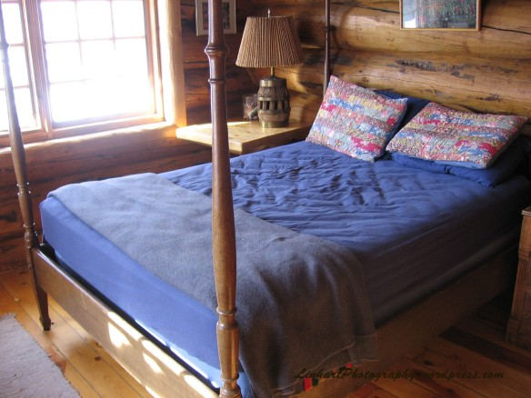 Chuck's Cabin Bedroom