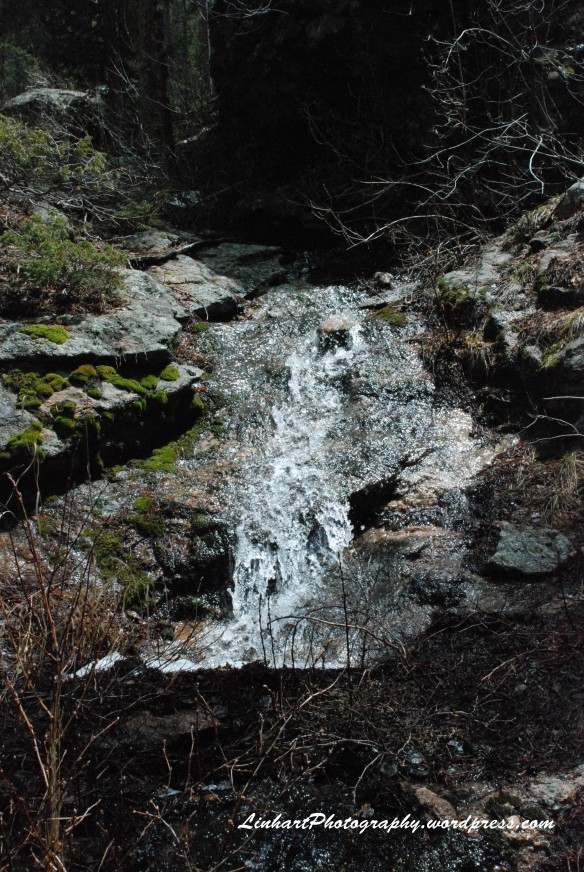 Maxwell Falls-small cascade