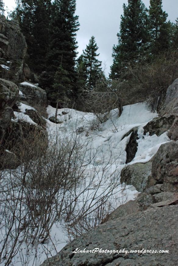 Maxwell Falls-frozen