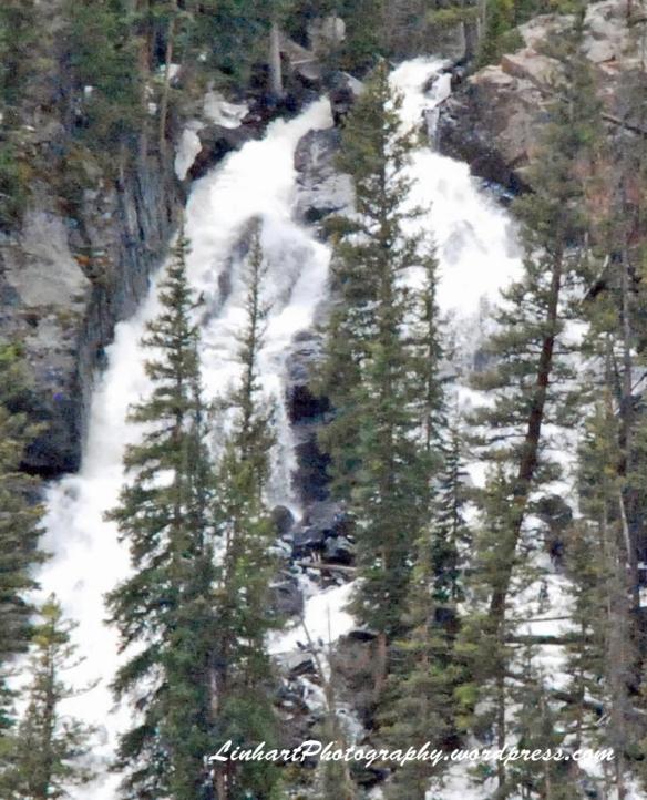 Lower Cataract Lake-Waterfall