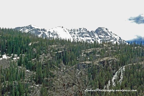 Lower Cataract Lake-Gore Range View