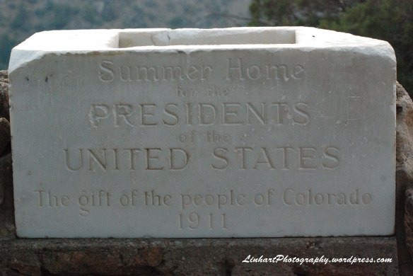 Mt Falcon Park-White House Cornerstone