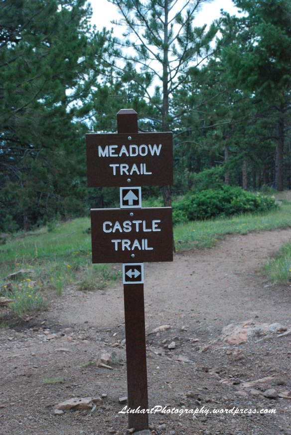 Mt Falcon Park-Trail Sign