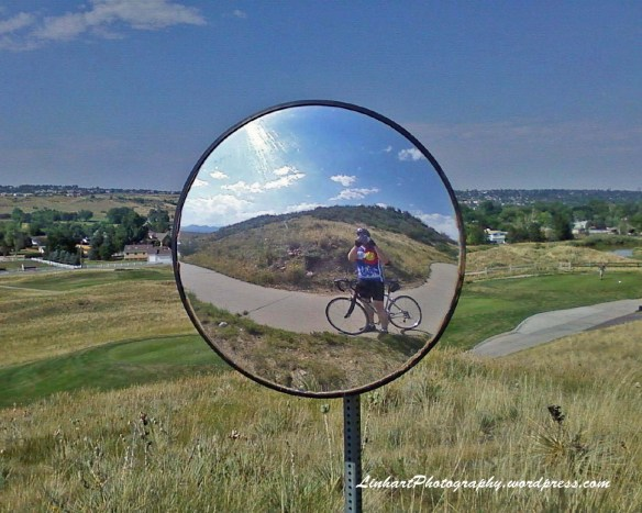 Bike Loop-Corner Mirror