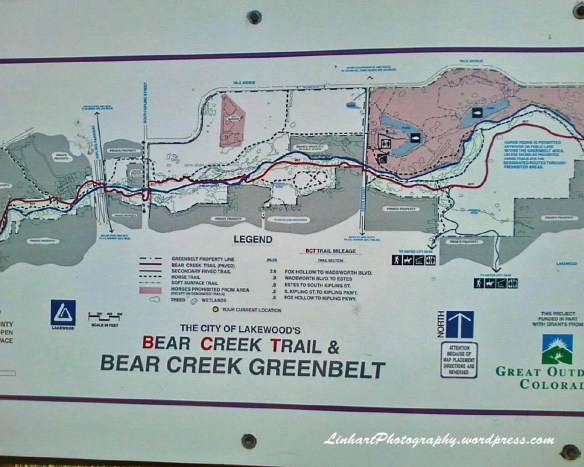 Bike Loop-Bear Creek Map