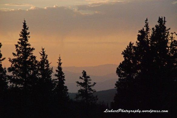 Fowler-Hilliard Hut-Sunset