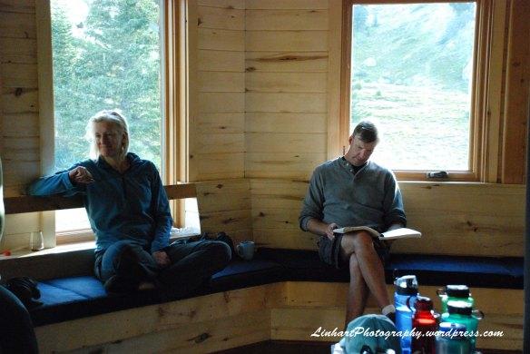 Fowler-Hilliard Hut-Inside Hut