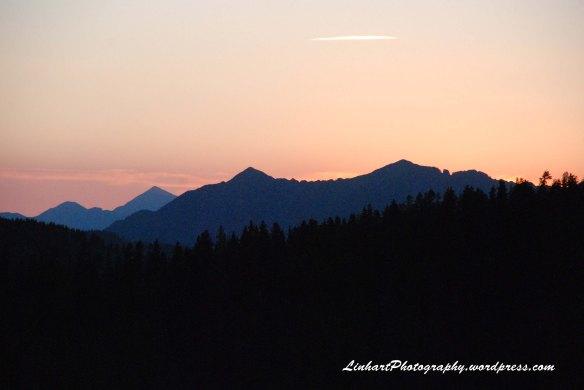 Fowler-Hilliard Hut-Sunrise