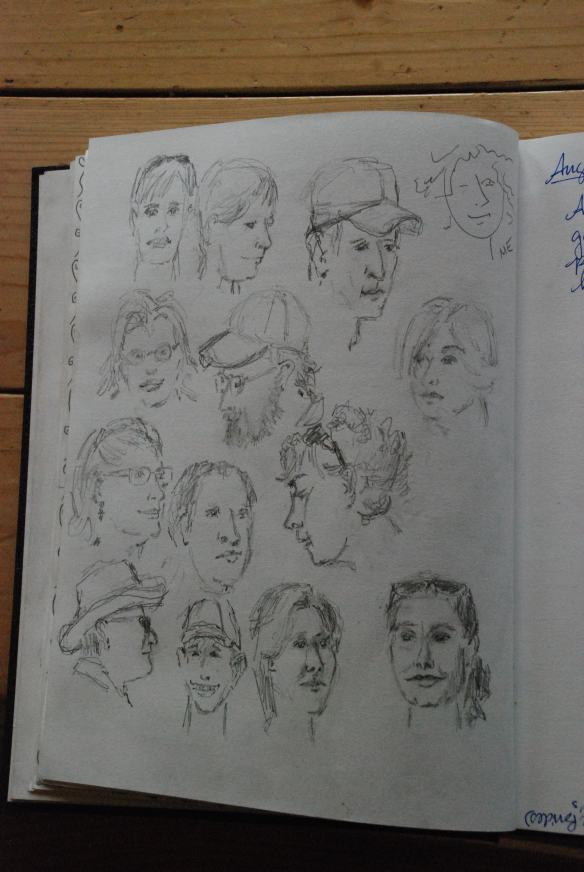 Fowler-Hilliard Hut-Sketches