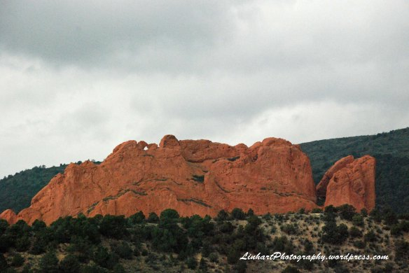 Garden of the Gods-kissing camels