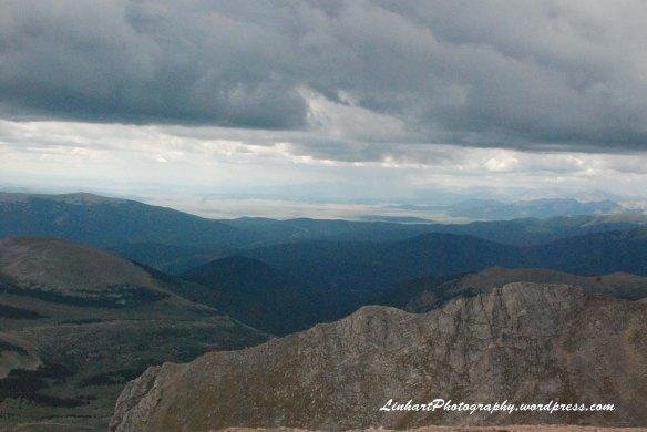Mt. Evans-Storm Clouds