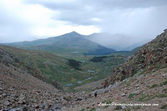 Mt. Evans-Rain