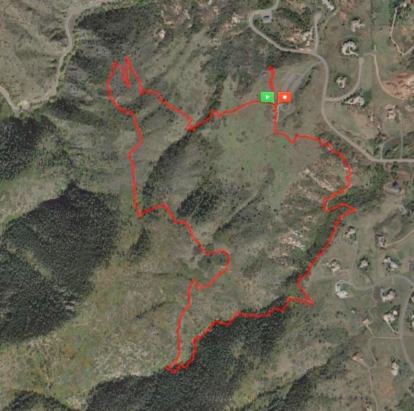 MapMyHike-Deer Creek Canyon