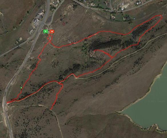 Marshall Mesa Map