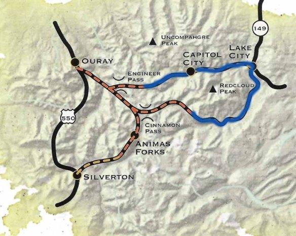 Alpine Loop-Linhart Route