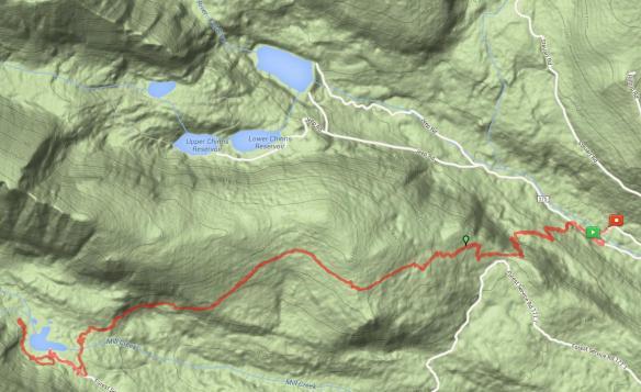 Bill Moore Lake Map