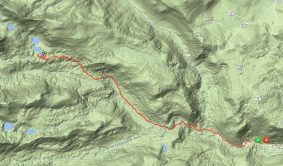 Jasper Lake Route