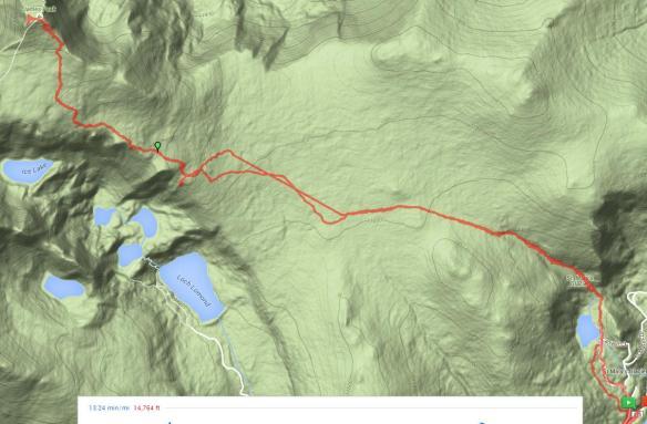 James Peak Map