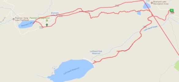 Brainard Hike Map